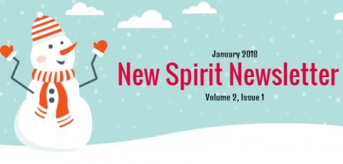 New Spirit Newsletter for January 2018