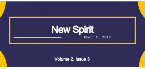 New Spirit for March 11, 2018 (Volume 2, Issue 3)