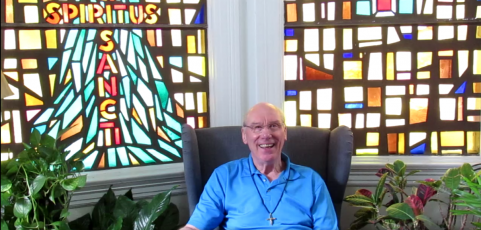 A video message from Father Jim to parishioners