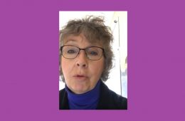 A video reflection by Joan O'Connell on Solidarity Sunday